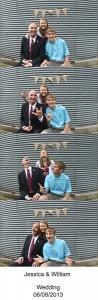 Jeff, Pattie and Jordan Simmons