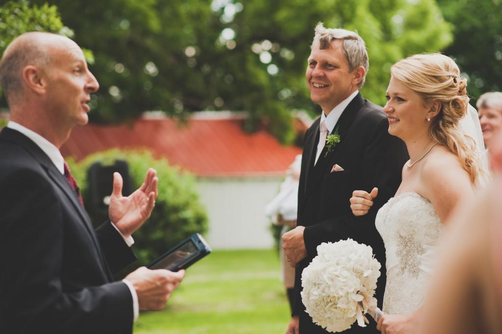 McBroom Wedding Ceremony