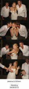 Johnny and Wesley with the Bride