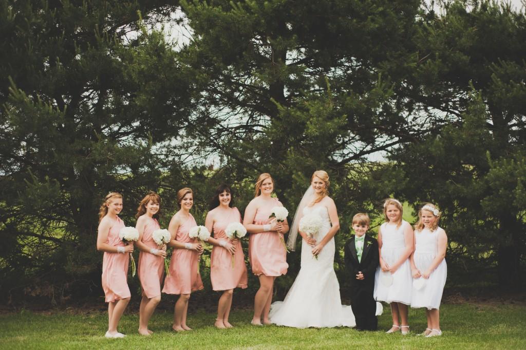 Jessica Brand and William McBroom Wedding Day